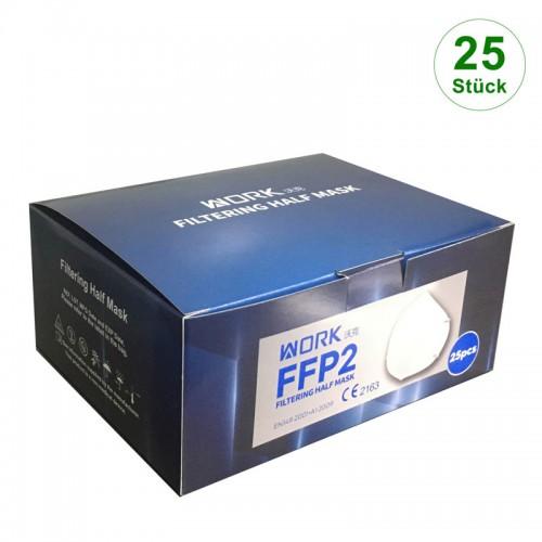 WORK® FFP2 Filtering Half Mask (25er Box)